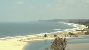 Paradise beach stock video footage