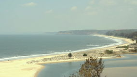Paradise beach stock video