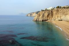 Paradise beach Alicante Stock Photos