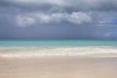 Paradise beach in Antigua Stock Image
