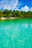 Paradise Beach on beautiful island Royalty Free Stock Photo