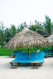 Paradise beach in caribbean tropical Royalty Free Stock Photos