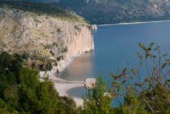 Paradise beach Cilento Coast Royalty Free Stock Images