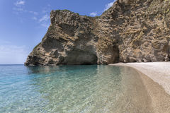 Paradise Beach on Corfu island, Greece Royalty Free Stock Image