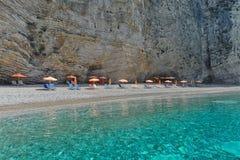 Paradise beach, Corfu island, Greece Stock Photography