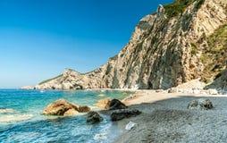 Paradise Beach, Corfu Island, Greece. Royalty Free Stock Images
