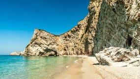 Paradise Beach, Corfu Island, Greece. Stock Photography