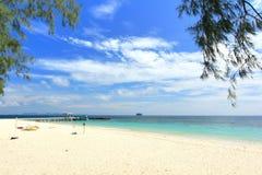 Paradise beach in Koh maiton island , phuket ,Thailand Stock Images