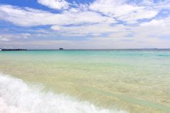 Paradise beach in Koh maiton island , phuket ,Thailand Royalty Free Stock Image