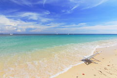 Paradise beach in Koh maiton island , phuket ,Thailand Royalty Free Stock Photography