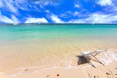 Paradise beach in Koh maiton island , phuket ,Thailand Stock Photo