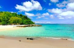 Paradise beach in Koh maiton island , phuket ,Thailand Royalty Free Stock Photos
