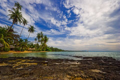 Paradise beach of Koh Mak Stock Images