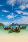 Paradise beach of Koh Phi Phi Royalty Free Stock Image