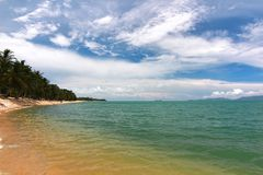 Paradise beach. Koh Samui, Thailand Royalty Free Stock Image