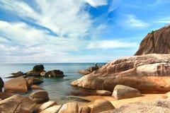 Paradise beach. Koh Samui, Thailand Stock Images