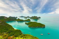 Paradise beach. Koh Samui, Thailand. The Paradise beach. Koh Samui, Thailand Royalty Free Stock Photo