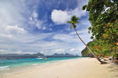 Paradise Beach Landscape Royalty Free Stock Photos
