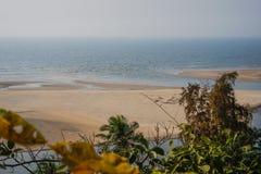 Paradise beach. In Maharashtra, India Royalty Free Stock Image