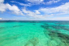 Paradise beach in maiton island phuket thailand Stock Image