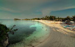 Paradise Beach - Malapascua Island - Philippines Royalty Free Stock Images