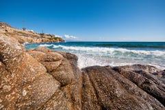 Paradise beach in Mykonos Royalty Free Stock Photo