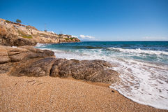 Paradise beach in Mykonos Stock Images