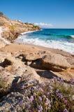 Paradise beach in Mykonos Royalty Free Stock Photos
