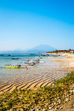 Paradise beach at Nusa Lembongan, Indonesia Royalty Free Stock Photo