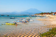 Paradise beach at Nusa Lembongan, Indonesia Stock Image