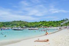 Paradise beach Racha island Royalty Free Stock Photos