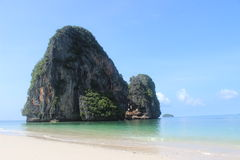 Paradise beach. Paradise relax in thailand beach Royalty Free Stock Images