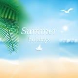 Paradise beach. Stock Photos