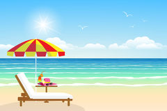Paradise beach Stock Image