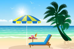Paradise beach Stock Images