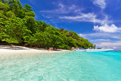 Paradise beach on Similan Islands Royalty Free Stock Images
