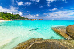 Paradise beach of Similan islands Royalty Free Stock Image