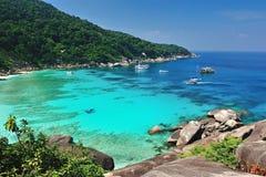 Paradise beach of Similan islands, Thailand Stock Photos