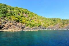 Paradise beach of Similan islands Royalty Free Stock Photo