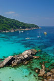 Paradise beach of Similan islands Stock Image