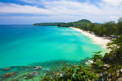 Paradise Beach at Surin Islands Royalty Free Stock Photo