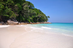 Paradise Beach at Ta chai Island Stock Images