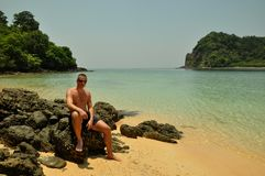 Paradise on beach, Thailand Stock Photography
