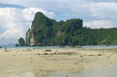 Summer beach in Thailand Royalty Free Stock Photography