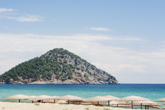 Paradise Beach, Thassos island Royalty Free Stock Photos