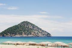Paradise Beach, Thassos island Royalty Free Stock Photos