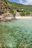 Paradise Beach, Thassos Island Royalty Free Stock Photography