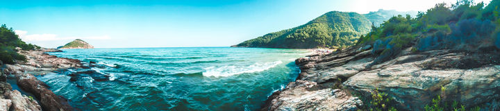 Paradise. It is paradise beach on Thassos island Royalty Free Stock Images