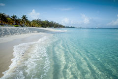 Paradise beach on a tropical island Stock Image