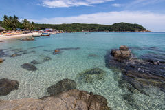 Paradise beach view, Stock Photo